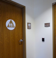 ada sign systems Rochester MN, custom signage
