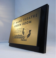 interior signs, rochester mn, custom signage
