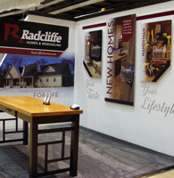 trade show displays, rochester mn, graphic design